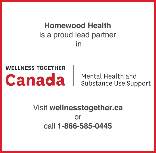 Contact Information for Wellness Together Canada