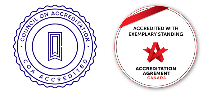 Accreditation Seals